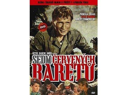 Sedm červených baretů DVD