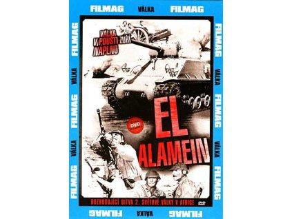 El Alamein DVD papírový obal
