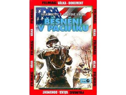 Běsnění v Pacifiku II. DVD papírový obal