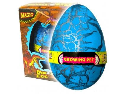Dinosauří vejce JUMBO líhnoucí se modré (3609)