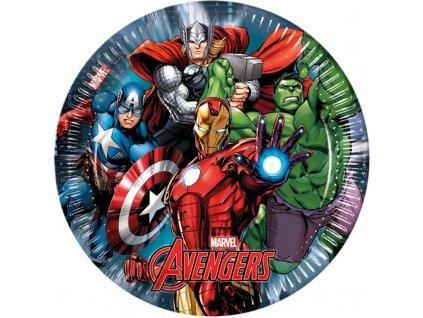 avengers plate 8pcs 23cm