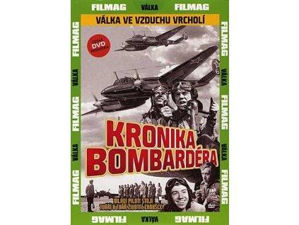 Kronika bombardéra DVD papírový obal