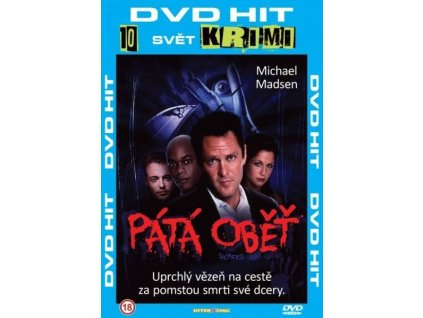 Pátá oběť DVD papírový obal