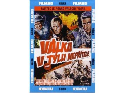 Válka v týlu nepřítele DVD papírový obal