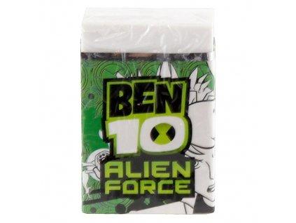 Guma Ben 10 zelený přebal (9708)