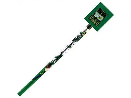 Tužka se zelenou gumou Ben 10 (9074)