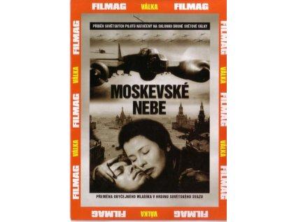 Moskevské nebe DVD papírový obal