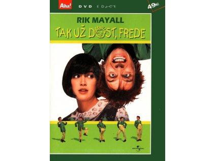 Tak už dost, Frede DVD papírový obal