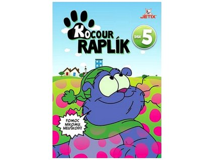 Kocour Raplík 5 DVD papírový obal