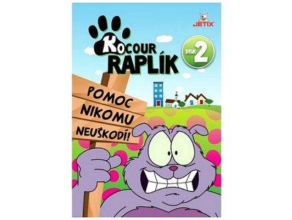 Kocour Raplík 2 DVD papírový obal
