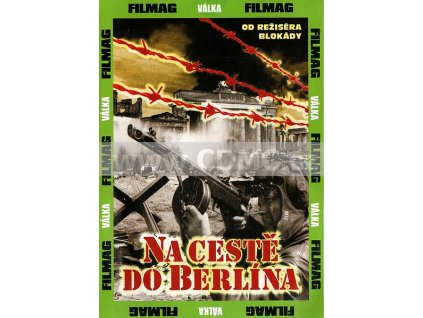Na cestě do Berlína DVD papírový obal