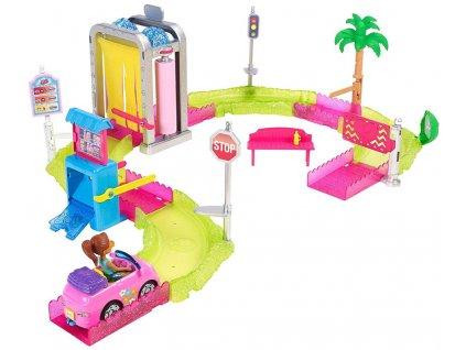 Mattel Barbie mini Vozomyčka herní set (0001)