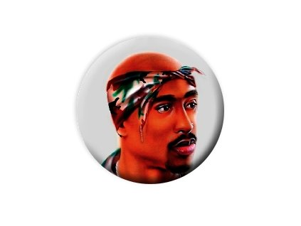 Placka 2pac 25mm (013)