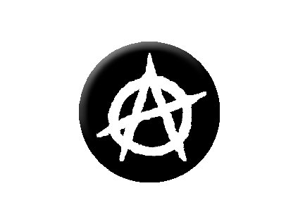 Placka Anarchist 25mm (018)