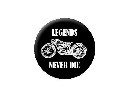 Placka Legends 25mm (025)