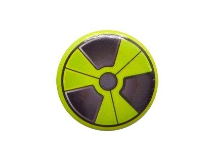 Placka Radioactive 25mm (050)