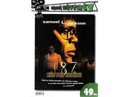 187 Kód pro vraždu DVD papírový obal