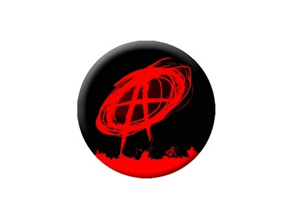 Placka Anarchist 25mm (061)