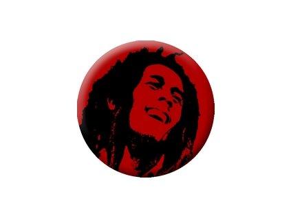 Placka Bob Marley 25mm (068)