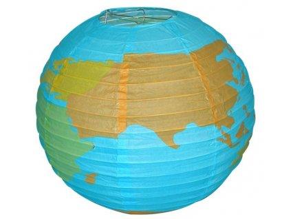 Lampion kulatý globus 41 cm (3217)