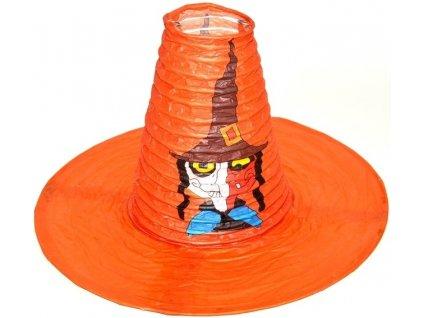 Lampion klobouk 25x20 cm (0142)