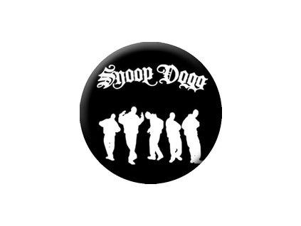 Placka Snoop Dogg 25mm (085)