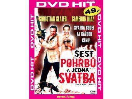 Šest pohřbů a jedna svatba DVD papírový obal (3608)