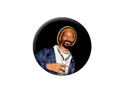 Placka Snoop Dogg 25mm (087)