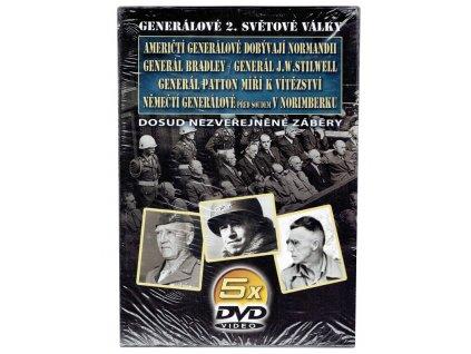 5 CD Generálové 2.světové války 2.díl - DVD papírový obal (1008)