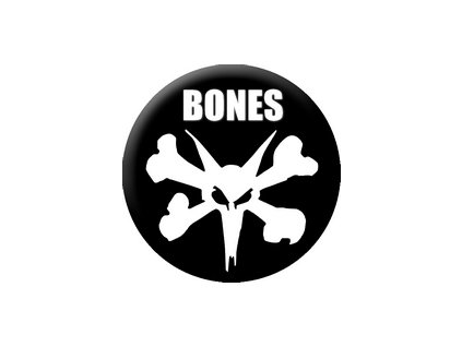 Placka Bones 25mm (095)