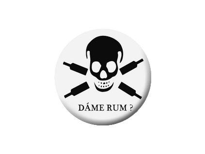 Placka Dáme rum? 25mm (097)