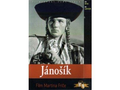 Jánošík DVD papírový obal (0604)
