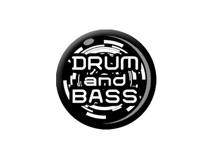 Placka Drum and Bass 25mm (106)