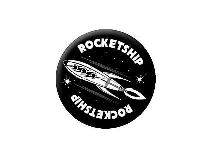 Placka Rocketship 25mm (111)