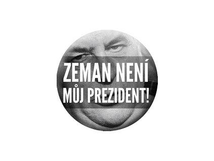 Placka Zeman není 25mm (128)