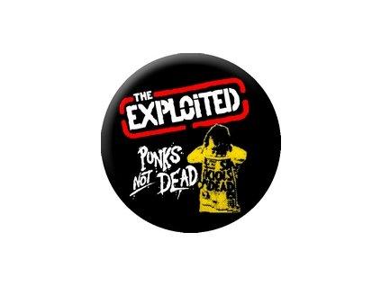 Placka Exploited 25mm (136)