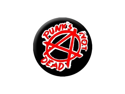 Placka Punk 25mm (140)