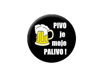 Placka Pivo 25mm (156)