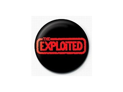 Placka Exploited 25mm (162)