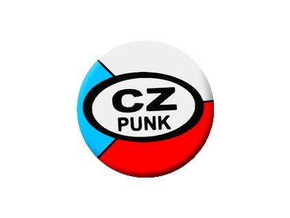 Placka CZ Punk 25mm (187)