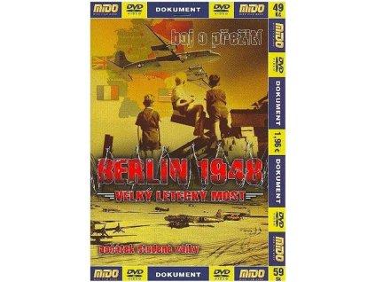Berlín 1948: Velký letecký most DVD papírový obal