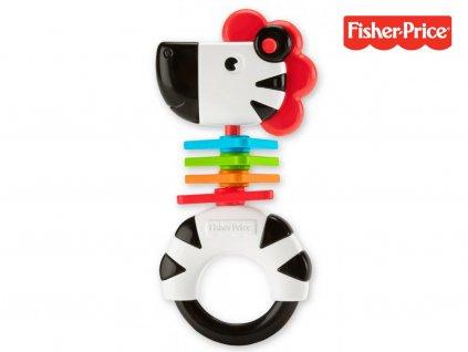 Fisher-Price Chrastítko zebra (6426)