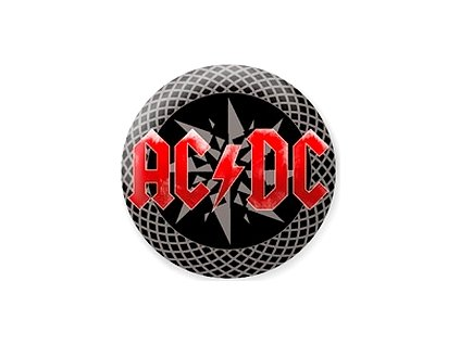 Placka ACDC 25mm (230)
