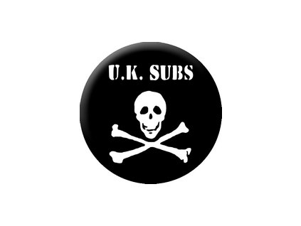 Placka U. K. SUBS 25mm (236)
