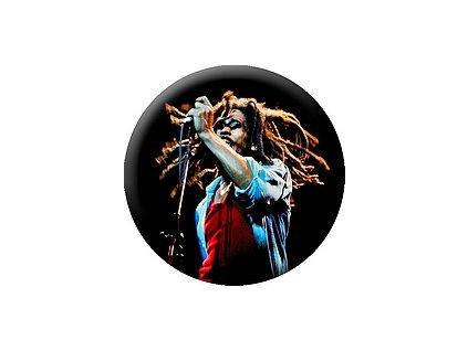Placka Bob Marley 25mm (238)