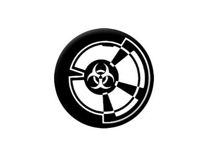 Placka Zombie Outbreak 25mm (239)