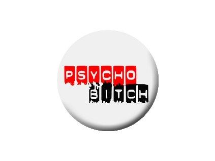 Placka Psycho 25mm (244)