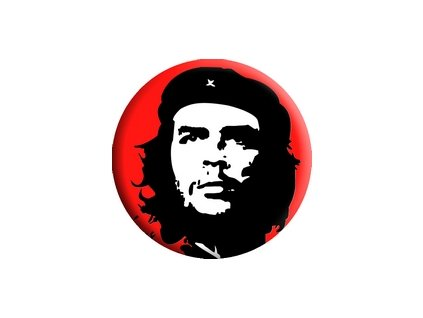 Placka Che Guevara 25mm (248)