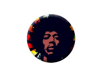 Placka Jimi Hendrix 25mm (272)