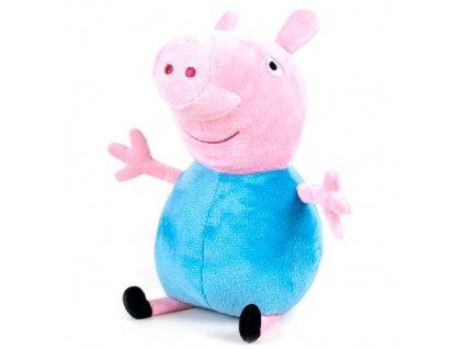 PLYŠ Prasátko Peppa Pig 20 cm modrý (5940)